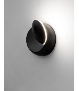 5W LED Sieninis šviestuvas ODIN Black 910162