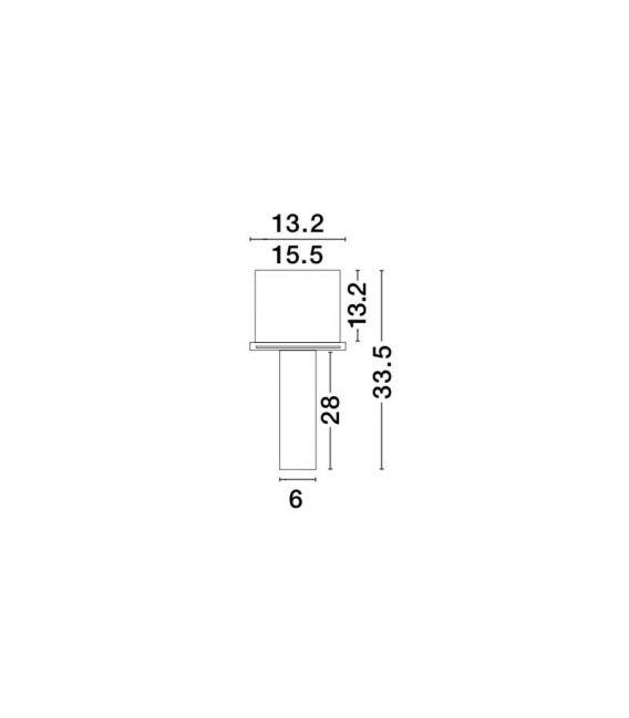 Įmontuojamas šviestuvas GIACOMO Black H33 51855202