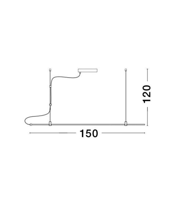 Magnetinė apšvietimo sistema GRAMMI 01 9180563