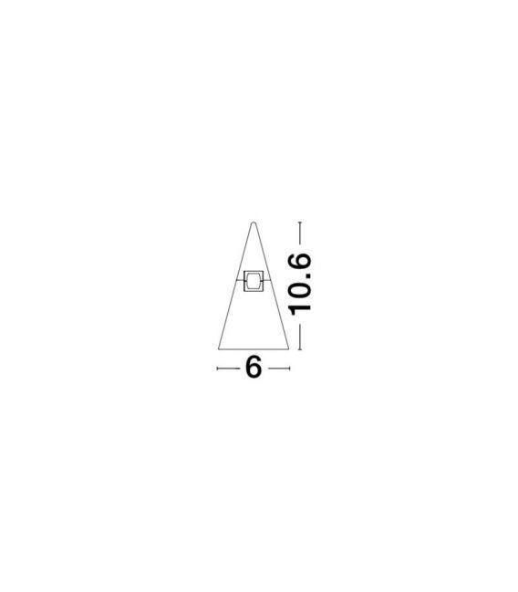 5W LED Magnetinis šviestuvas CONO Brass 9090286