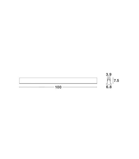 Įmontuojamas magnetinis profilis BUXTON 02 8252002