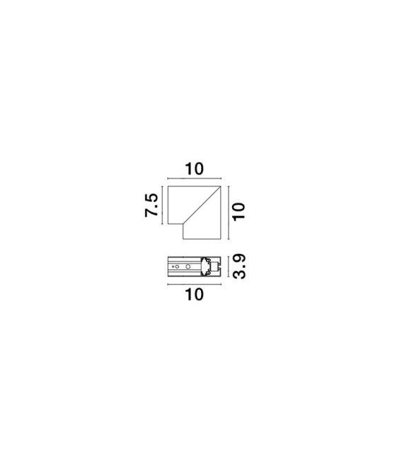 Profilio BUXTON 01 sujungimas V-CONNECTOR 8252014