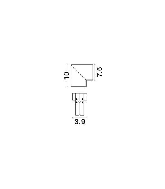 Profilio BUXTON 02 sujungimas V-CONNECTOR 8252012