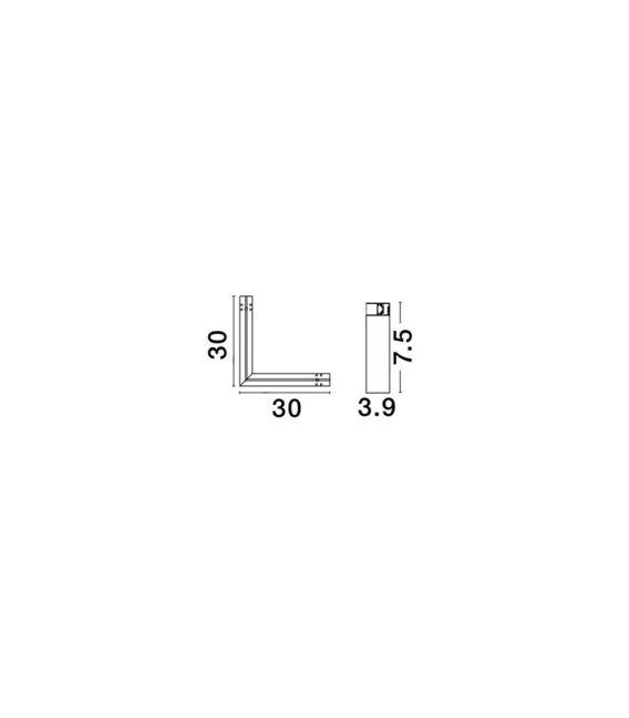 Profilio BUXTON 01 sujungimas Q-CONNECTOR 8252011