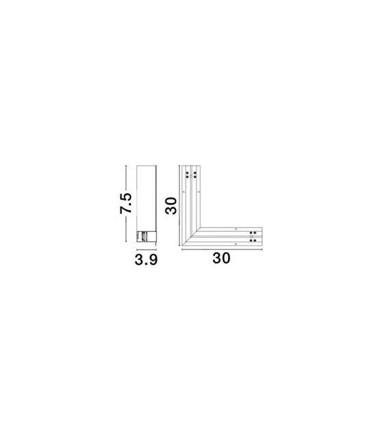 Profilio BUXTON 02 sujungimas Q-CONNECTOR 8252013