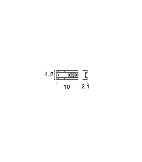 Profilio BUXTON sujungimas CONNECTOR 8252015