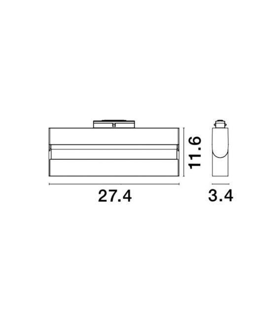 15W LED Magnetinis šviestuvas RIETI 3000K 860Lm 8254418