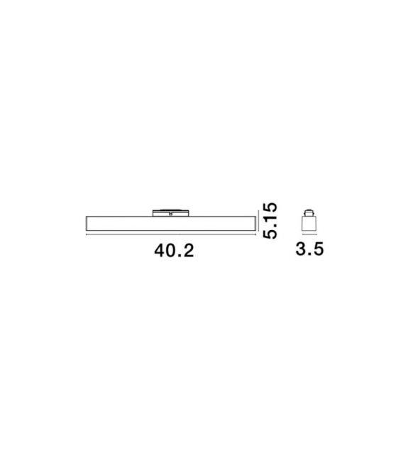 22W LED Magnetinis šviestuvas RIETI 3000K 850Lm 8254417