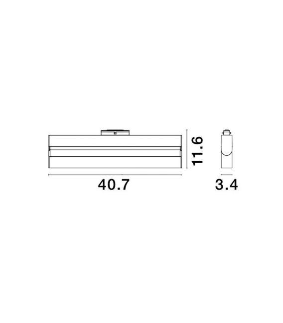 22W LED Magnetinis šviestuvas ESTE 3000K 1880Lm 8252026