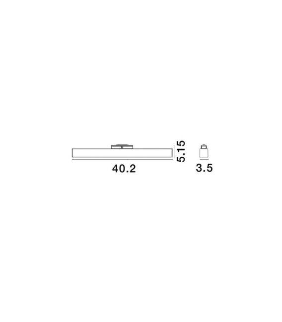 22W LED Magnetinis šviestuvas ESTE 3000K 1480Lm 8252026