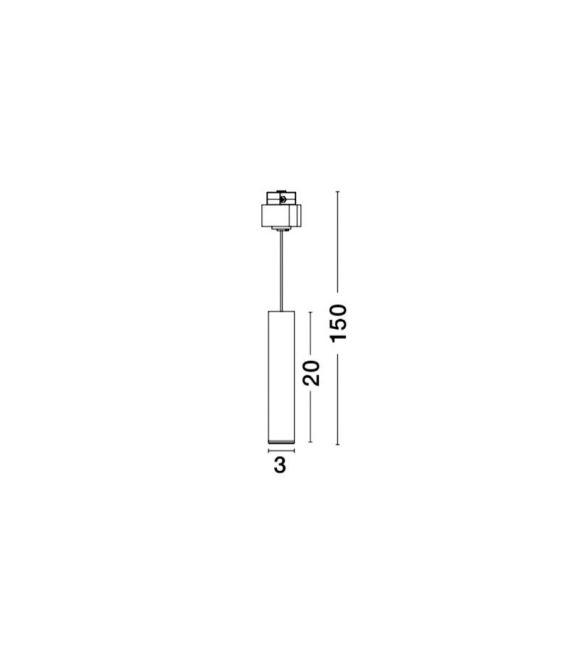10W LED Magnetinis šviestuvas JAZZ Black 8252030