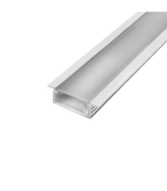 LED profilis įleidžiamas baltas PROF-151-1Mw