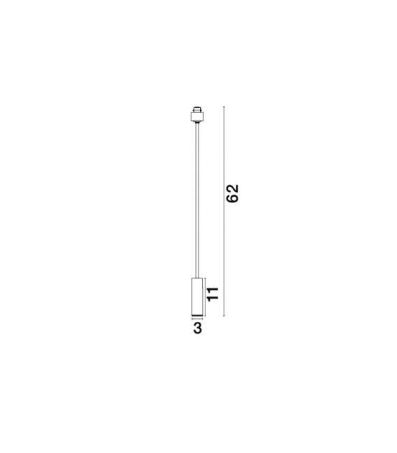 10W LED Magnetinis šviestuvas TEK Black H62 8252032