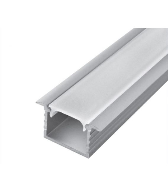 LED profilis GROOVE MAX įleidžiamas gilus 1m PROF-GROMAX-1Ms