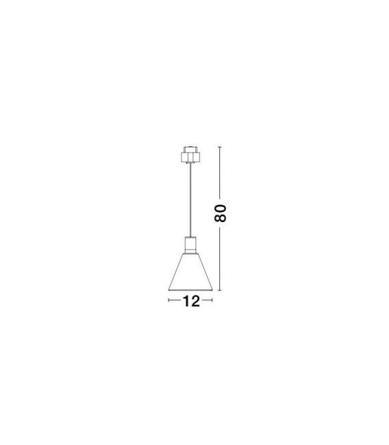 5W LED Magnetinis šviestuvas OIKO Brass 9012675