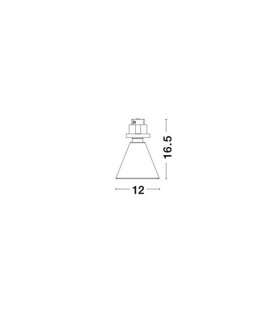 5W LED Magnetinis šviestuvas OIKO Black 9012674