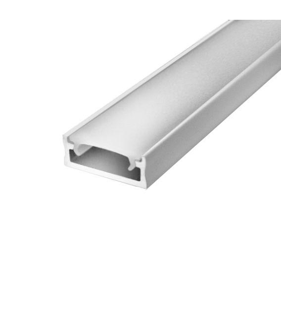 LED profilis paviršinis 1m Baltas PROF-150-1Mw