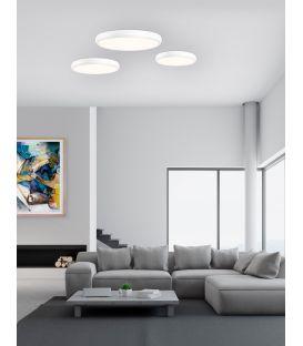 38W LED Lubinis šviestuvas GAP Ø41 White 8100981