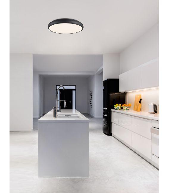 38W LED Lubinis šviestuvas GAP Ø41 Black 8100982