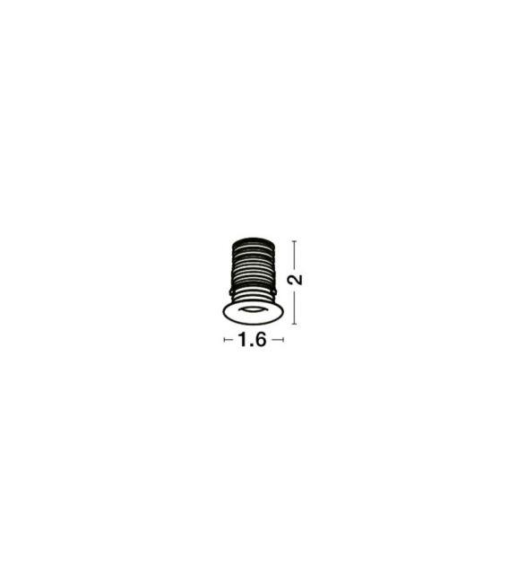 1W LED Įmontuojamas šviestuvas TINY White Ø1.2 IP44 8035601