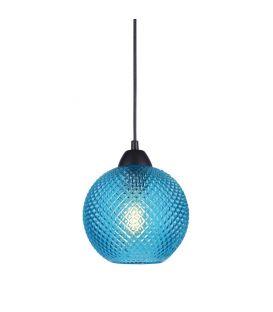 Pakabinamas šviestuvas PORTO 1 Blue Glass 8103995
