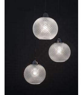 Pakabinamas šviestuvas PORTO 3 Clear Glass 8103992