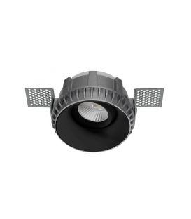 Įmontuojamas šviestuvas BRAD Round Black Ø8.1 9017392
