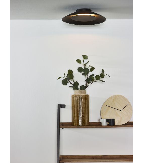12W LED Lubinis šviestuvas FOSKAL Ø34.5 Black 79177/12/30