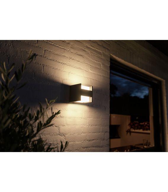 15W LED Sieninis šviestuvas HUE FUZO 17444/30/P7