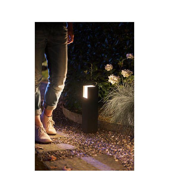 15W LED Pastatomas šviestuvas HUE FUZO IP44 17447/30/P7