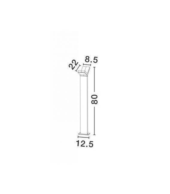 12W LED Pastatomas šviestuvas PARK IP54 713124