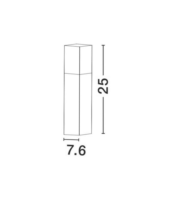 Pastatomas šviestuvas STICK H25 IP54 71371102