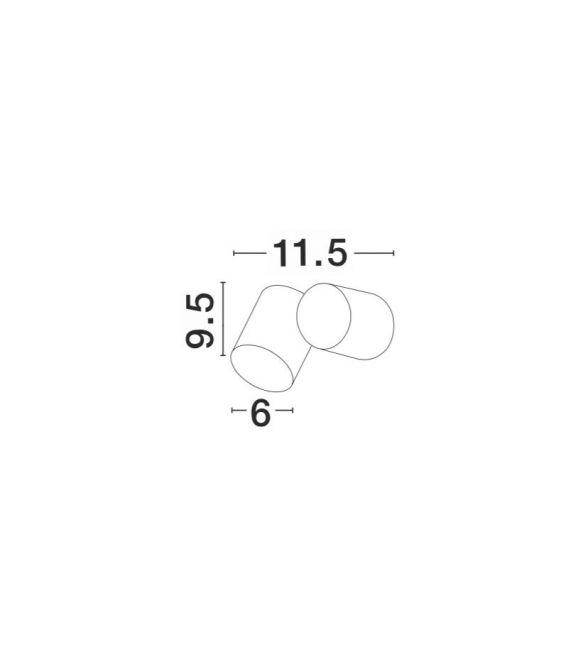 Sieninis šviestuvas FOCUS IP54 9207912
