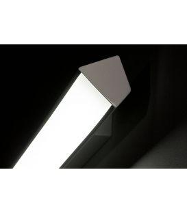 Sieninis šviestuvas VINDO S24 Grey 24W