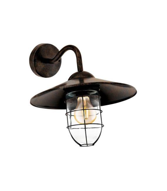 Sieninis šviestuvas MELGOA Copper-antique IP44 94863