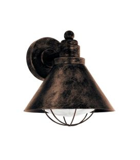Sieninis šviestuvas BARROSELA Copper-antique IP44 94858