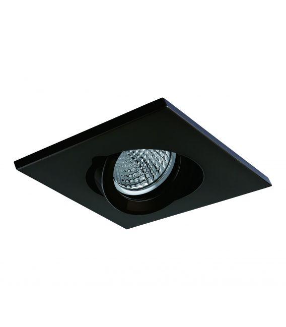 Įmontuojamas šviestuvas NC AROS Black NC1860SQ-FBK YLD-021383