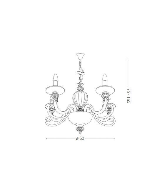 Pakabinams šviestuvas BARONET SP5 168258