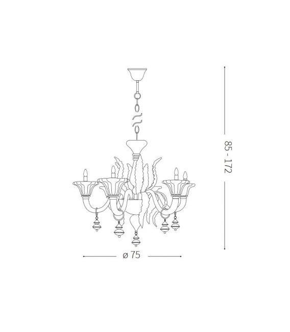 Pakabinamas šviestuvas RADETZKY SP6 141084