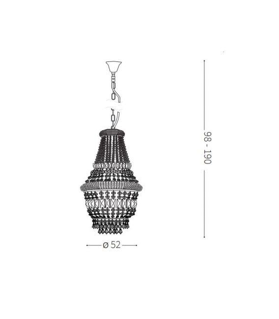 Pakabinamas šviestuvas DUBAI SP10 Ottone 207216