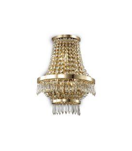 Sieninis šviestuvas CAESAR AP3 Gold 137704