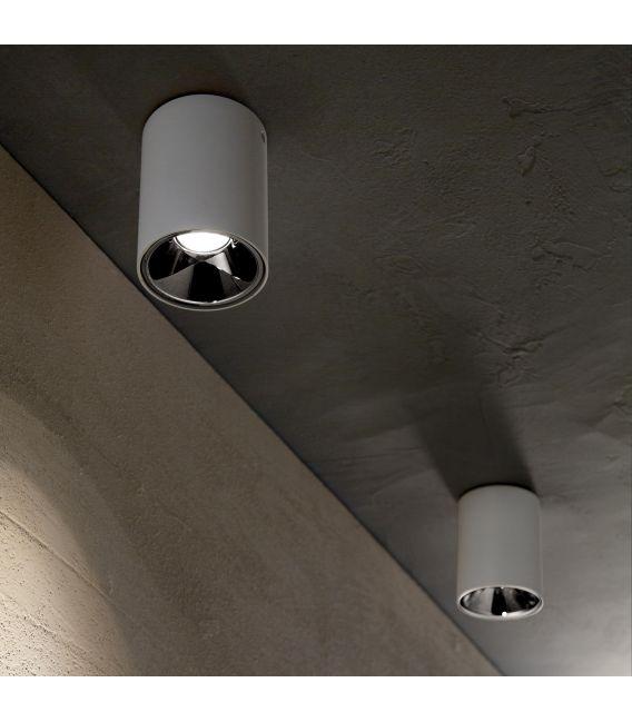 10W LED Lubinis šviestuvas NITRO Round White 205991
