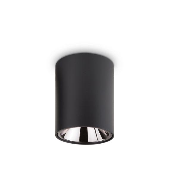 10W LED Lubinis šviestuvas NITRO Round Black 206004