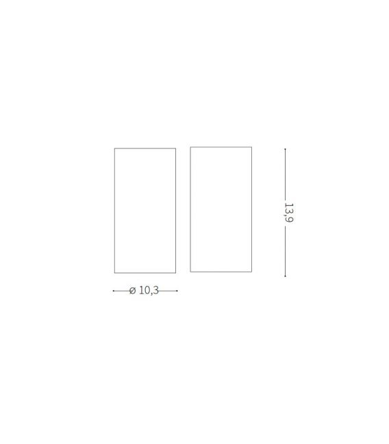 15W LED Lubinis šviestuvas NITRO Round White 205977