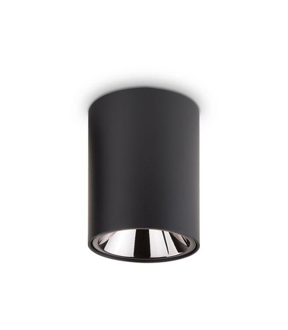 15W LED Lubinis šviestuvas NITRO Round Black 205984