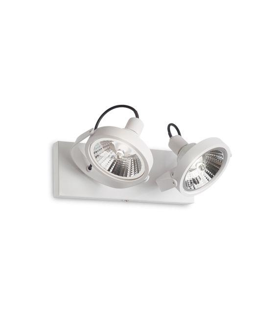Sieninis šviestuvas GLIM 2 White 200200