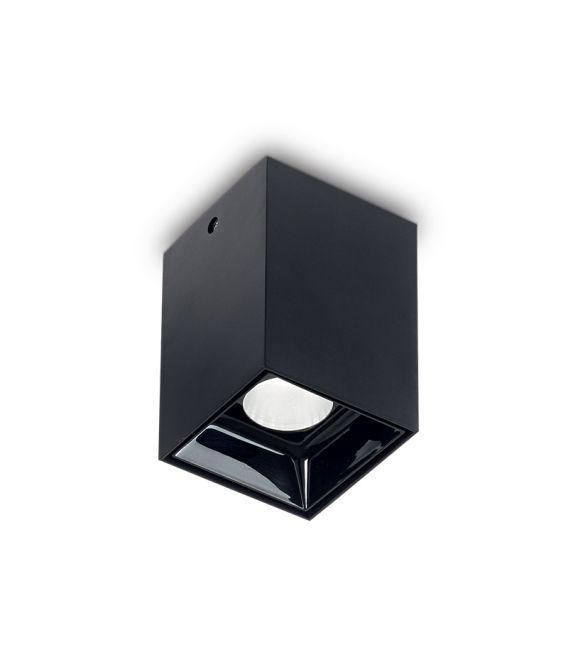 15W LED Lubinis šviestuvas NITRO Square Black 206028