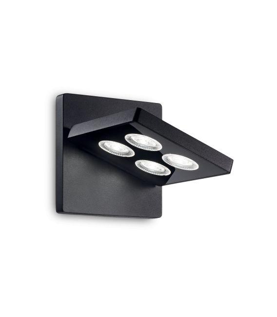 12W LED Sieninis šviestuvas GARAGE Square Black 205878