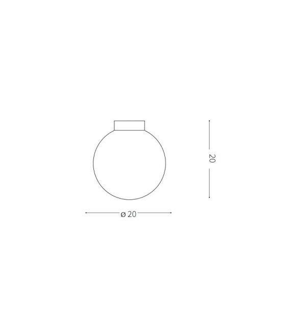 Lubinis šviestuvas SOLE PL1 Medium IP44 213309