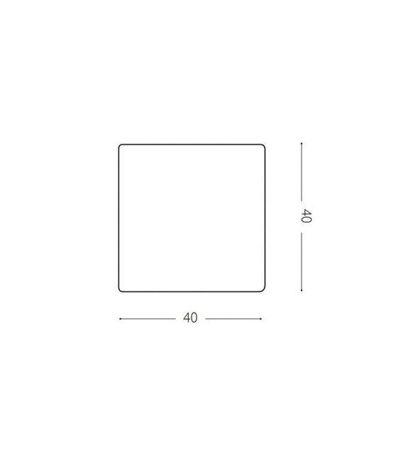Pastatomas šviestuvas LUNA D40 IP44 191584
